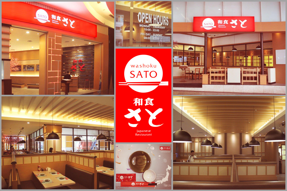 Washoku SATO outlet at Mall of Indonesia, Jakarta, Indonesia